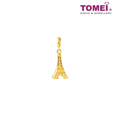 [Online Exclusive] Paris Charms | Tomei Yellow Gold 916 (22K) (TM-PT057-1C)