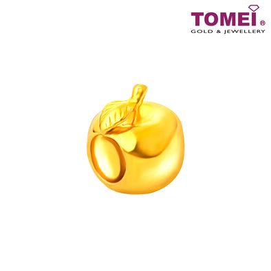 [Online Exclusive]Apple of My Eye Charm | Tomei Yellow Gold 916 (22K) (TM-PT086-1C)