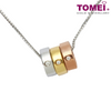 Simplicity Sparks Necklace | Tomei White Gold 375 (9K) (P4254)