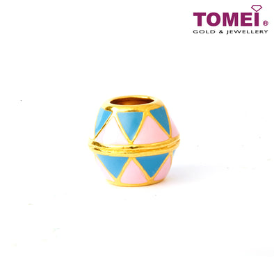 [Online Exclusive] Carnival Celebration Charm | Tomei Yellow Gold 916 (22K) (TM-YG0561P-EC)