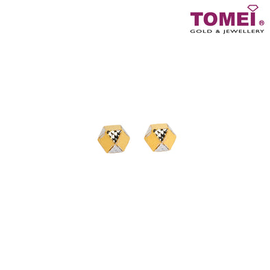 [Online Exclusive] Earrings | Italy Collection | Tomei Yellow Gold 916 (22K) (VX3DCLKE201791-YW-2C)