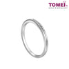 Eternal Love Couple Rings | Tomei 375 (9K) White Gold (EBK-R4429-R4430)