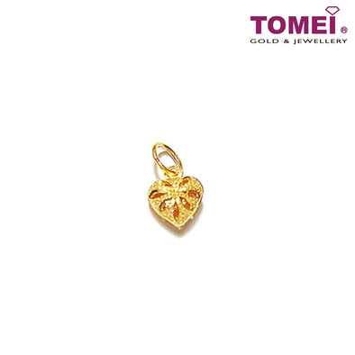 [Online Exclusive] Glitzy Glam Pendant | Tomei Yellow Gold 916 (22K) (9P-THXR-11MM-1C)