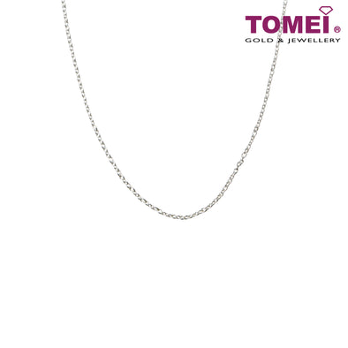 [Online Exclusive] Frosty Faith Cable Chain | 45cm | Tomei Sterling Silver 925 (N010405060)