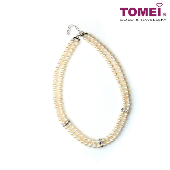 [Online Exclusive] Pearlfect Love Double Strand Pearl Necklace | Tomei Pearl (PN0018578)