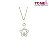 [Online Exclusive][Only Piece] Timeless Sparkle Diamond Necklace | Tomei White Gold 375 (9K) (P4136)