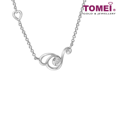 Twinkle in My Eye Diamond Necklace B0990