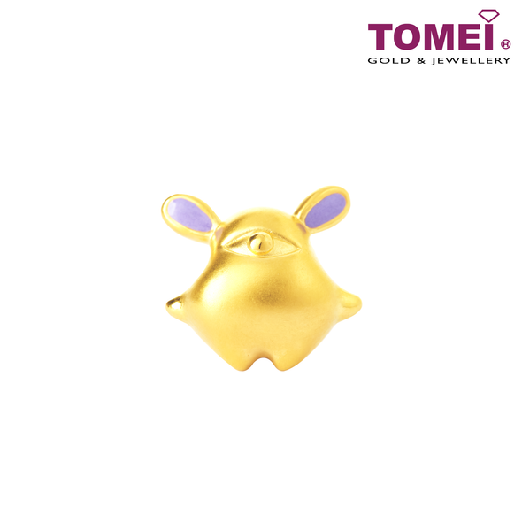 [Online Exclusive] Violet Night ELF Charm | Tomei Yellow Gold 999 (24K) with Complimentary Bracelet (BTP-5D-EC-LLT-DYS)