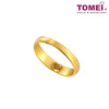 The Red Wedding Series Couple Rings | Tomei 916 (22K) Yellow Gold (XD-YG0241R-M-1C - XD-YG0242R-F-1C)