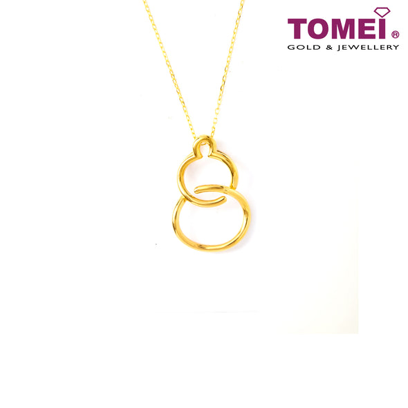 Wu Lou Minimalist Necklace | Tomei Yellow Gold 999 (24K) (BTN-5D-018)