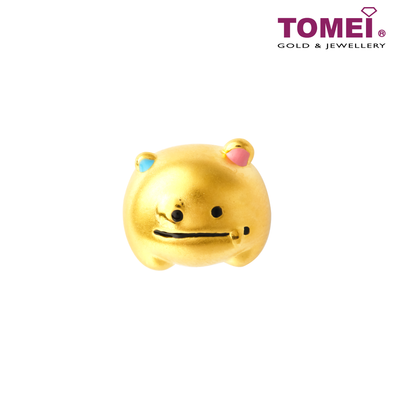 [Online Exclusive] Money Magnet Baby Monster Charm | Tomei Yellow Gold 999 (24K) with Complimentary Bracelet (BTP-5D-EC-LLT-XLJL)