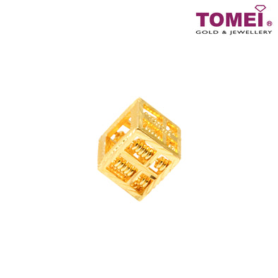 Cubic Abacus Pendant | Tomei Yellow Gold 916 (22K) (9P-FXSPZ-1C)