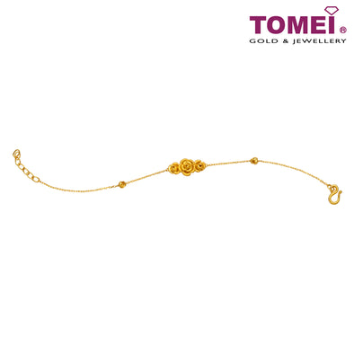 倾城玫瑰 Necklace | Tomei Yellow Gold 999 (24K)