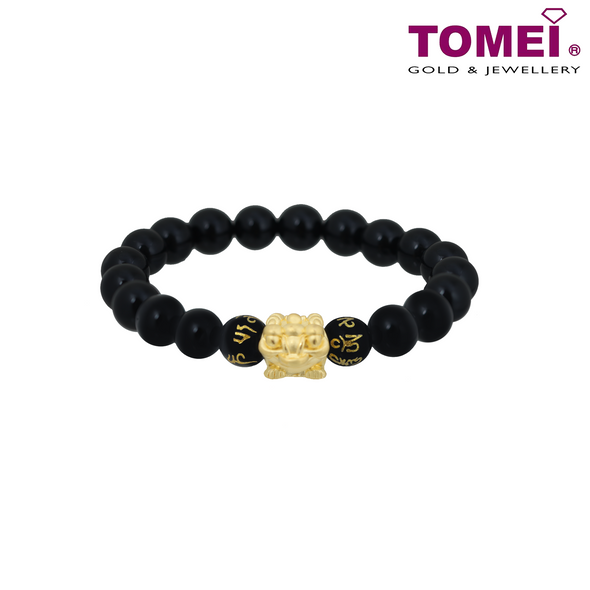 [Online Exclusive][Last Piece]Money Toad Bracelet | Tomei Yellow Gold 999 (24K) (AG-JC-B)
