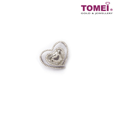 [Last Piece] Profusion of Bedazzlement in Splendour Diamond Pendant | Tomei White Gold 750 (18K) (DP0024087)