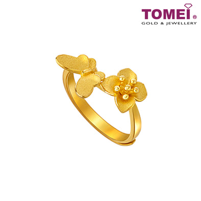 Ring | Tomei x Xifu Yellow Gold 999 (24K) (XF-HY-3-O)