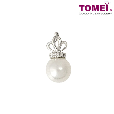 True Love Diamond Pendant | Tomei White Gold 375 (9K) (P5618)