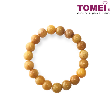 Tomei Palace Brown Jade Bracelet