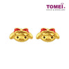 My Melody Earrings | Tomei Yellow Gold 916 (22K) (HK-M-YG1127E-EC)