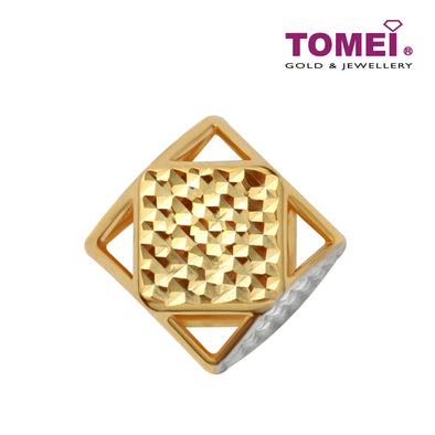 [Online Exclusive]Golden Heritage Charm | Tomei Yellow Gold 916 (22K) (TM-YG0737P-2C)