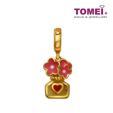 [Online Exclusive]Magical Blossom Perfume Charm | Tomei Yellow Gold 916 (22K) (TM-YG0322P-EC)