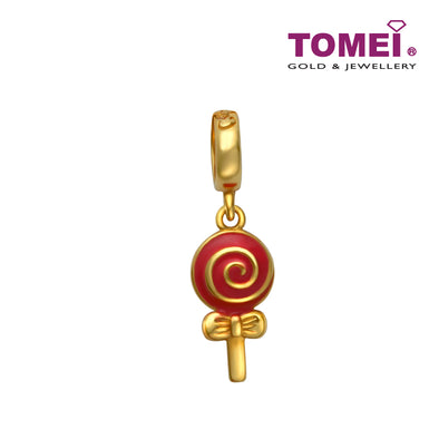 Online Exclusive - Missy Lollipop Charm | Tomei Yellow Gold 916 (22K) (TM-YG0333P-EC)
