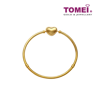 [Online Exclusive] Chomel Bangle | Tomei Yellow Gold 916 (22K) (TM-BK003-1C)