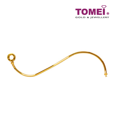 [Online Exclusive]Chomel Bracelet | Tomei Yellow Gold 916 (22K) (TM-YG1116B-1C)
