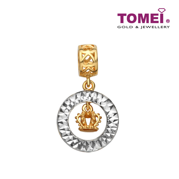 [Online Exclusive] Moonlight Glory Charm | Tomei Yellow Gold 916 (22K) (TM-YG0715P-2C)
