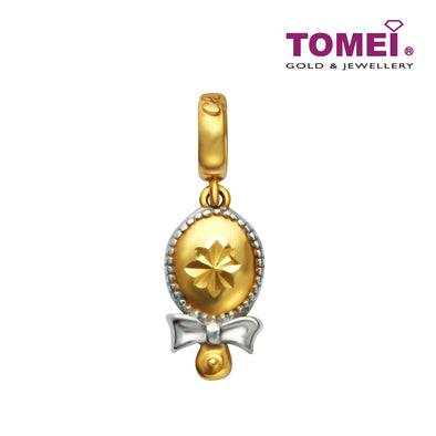 [Online Exclusive]Magic Mirror Pendant | Tomei Yellow Gold 916 (22K) (TM-YG0283P-2C)