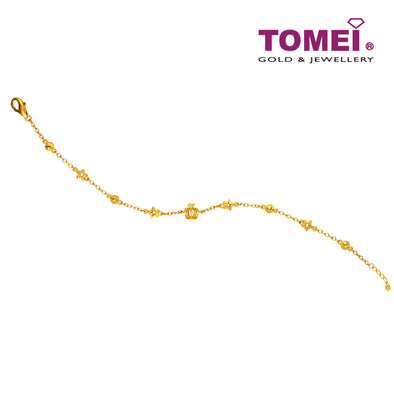 Flower Bracelet | Tomei x Prima Gold Yellow Gold 999 (24K) (111L2027)