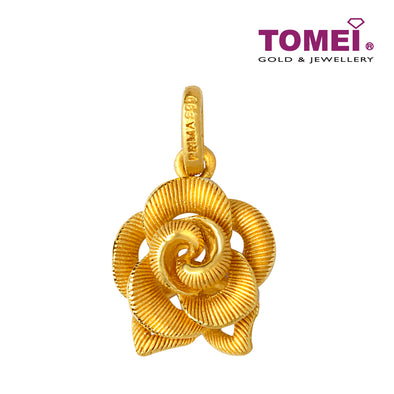 Flower Pendant | Tomei x Prima Gold Yellow Gold 999 (24K) (QP0002540)