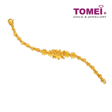 Flower Bracelet | Tomei x Prima Gold Yellow Gold 999 (24K) (QM0000933)
