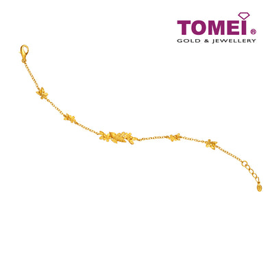 Flower Bracelet | Tomei x Prima Gold Yellow Gold 999 (24K) (111L2039)