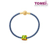 [Online Exclusive] 520 Chomel Charm | Tomei Yellow Gold 916 (22K) with Complimentary Navy Blue Bracelet (TM-YG0447P-EC)
