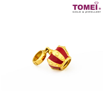 [Online Exclusive]Charm of the Courtly and Classy Crown | Tomei Yellow Gold 916 (22K) (TM-YG0471P-EC)