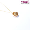 Ruyi Wishfulfilling Knot Necklace | Tomei Yellow Gold 999 (24K) (BTN-5D-033)