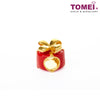 [Online Exclusive] Present Charm | Tomei Yellow Gold 916 (22K) with Complimentary Red Bracelet (TM-YG0704P-EC)