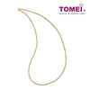 Dual-Tone Shimmering Dewdrops Necklace | Tomei Yellow Gold 916 (22K) (NN2248-2C)