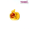[Online Exclusive] Apple of My Eye Charm | Tomei Yellow Gold 916 (22K) (TM-PT086-1C) Red