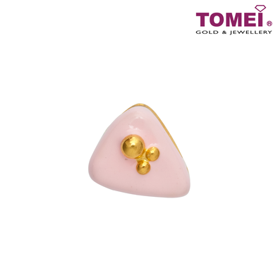 [Online Exclusive] Delicious Love Charm | Tomei Yellow Gold 916 (22K) with Complimentary Coral Blue Bracelet (TM-ABIT070-HG-EC)