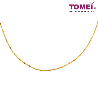 Water Wave Chain | Tomei Yellow Gold 916 (22K) (9N-SB12-01)