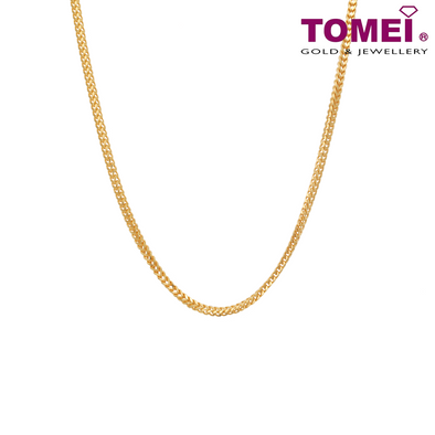 Men's Spiga Chain | Tomei Yellow Gold 916 (22K) (9N-RZ070MM18-30)