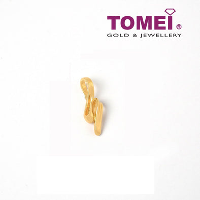 Undulating Beauty in Motion Pendant | Tomei Yellow Gold 916 (22K) (WS-YG0745P-1C)
