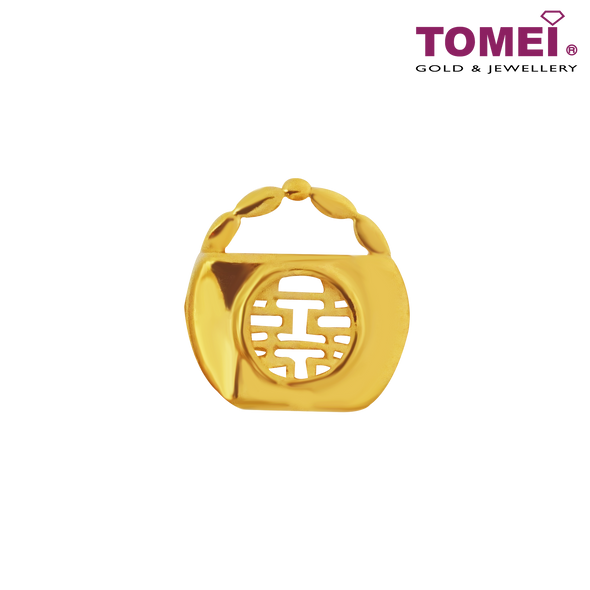 All-Well Scale Charm | Double Happiness Wedding Collection | Tomei Yellow Gold 916 (22K) (TM-YG0630P-1C)