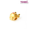[Online Exclusive] Baby Reindeer Charm | Tomei Yellow Gold 999 (24K) with Complimentary Red Bracelet (LLT-DEER)