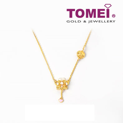 Majestic Resplendency of Royalty Necklace | Tomei Yellow Gold 916 (22K) (9N-YG1355N-EC)