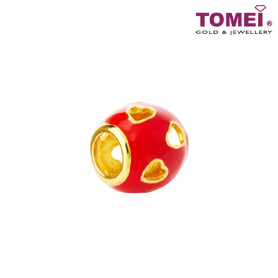 [Online Exclusive]Rollicking Sphere of Love | Tomei Yellow Gold 916 (22K) (TM-YG0529P-EC)