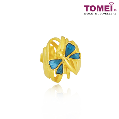Firefly Chomel Charm | Light of My Life | Tomei Yellow Gold 916 (22K) (TM-YG0688P-EC)