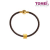 [Online Exclusive] Shi Lai Yun Zhuan Lucky Charm | Tomei Yellow Gold 916 (22K) with Complimentary Black Bracelet (TM-ABIT065-HG-1C)